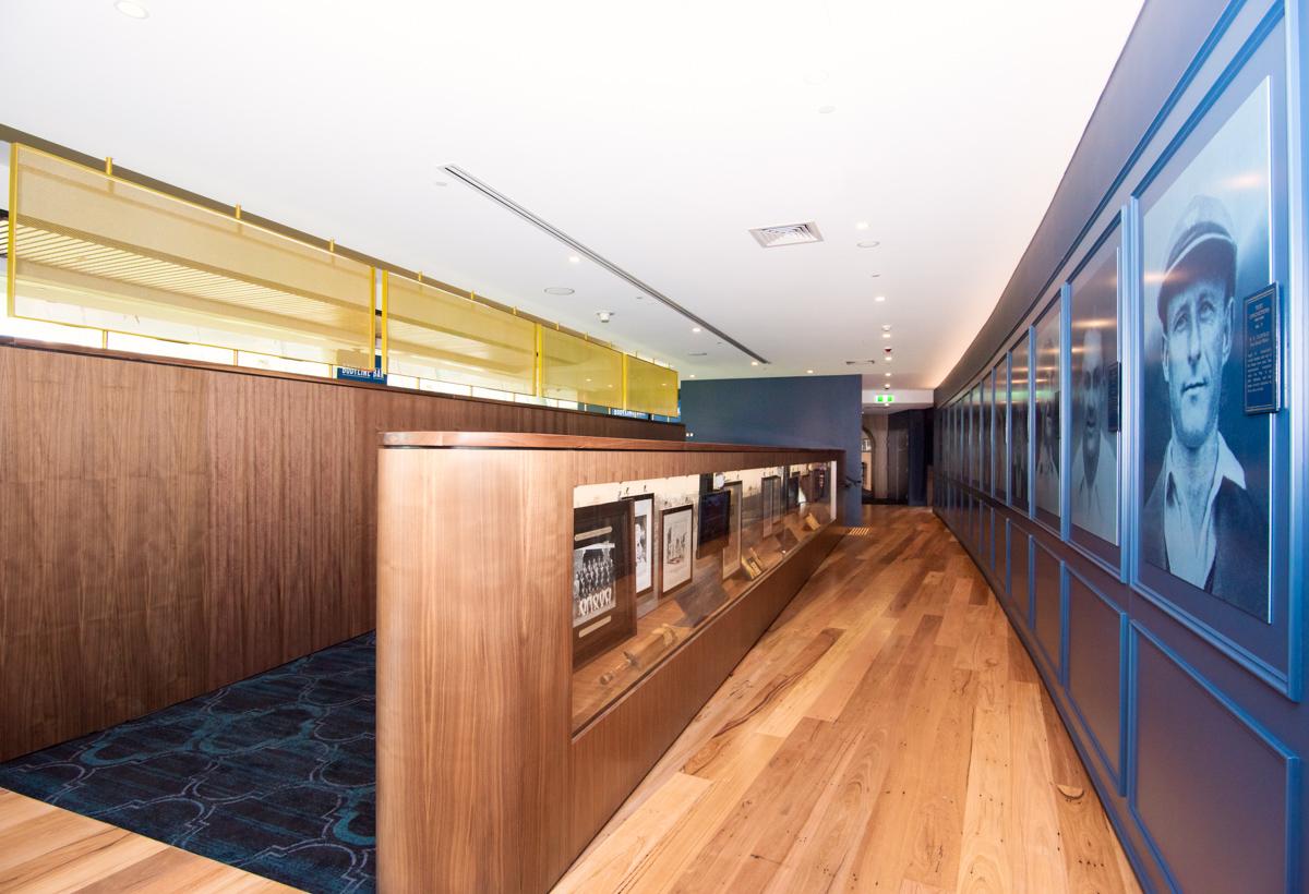 Adelaide Oval Bodyline Bar Image Shopfitting